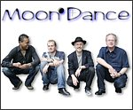 James Asher with ceilidh band MoonDance